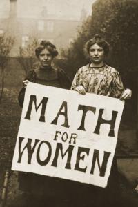 The Longest Matrilineal Chain in Math